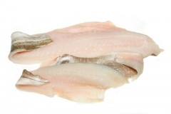Dorsz atlantycki mrożony - filet ze skórą
